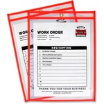 buy c-line neon colored stitched shop ticket holders - great pricing - sku: cli43912