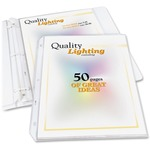 lowered prices on c-line high-capacity top-loading sheet protectors - super fast delivery - sku: cli62020