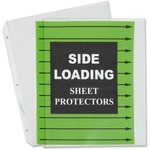 c-line side loading sheet protectors - toll-free customer support team - sku: cli62313