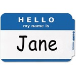 wide assortment of c-line hello my name is adhesive name badges - top notch customer support - sku: cli92235
