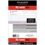 day runner express weekly planner refills - us-based customer support staff - sku: drn061285y