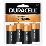 duracell coppertop alkaline c batteries - sku: durmn1400r4zx - professional customer support