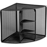 rolodex mesh corner shelf - sku: rol62630 - great selection