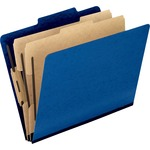 esselte oxford pressguard classification folders - sku: ess1257bl - professional customer service