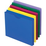 esselte translucent poly file jackets - quick delivery - sku: ess50990