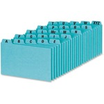 large supply of esselte a-z self-tab style index card guides - excellent customer support team - sku: essp3525