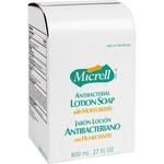 large supply of gojo micrell antibacterial lotion dispenser refill - quick delivery - sku: goj975712ea
