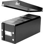 search for ideastream snap-n-store cd storage box  - top rated customer service - sku: idesns01521