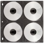 in the market for ideastream 8-capacity cd dvd binder sleeves  - low prices - sku: idevz01401