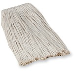 genuine joe economy cotton mop refills - sku: gjo48253 - new  lower pricing