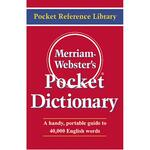 purchase merriam-webster s pocket dictionary - fast   free delivery