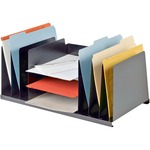 reduced prices on mmf industries letter size desk organizer - super fast delivery - sku: mmf2643dobk
