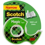 pick up 3m scotch magic transparent tape w dispenser - terrific prices - sku: mmm122