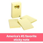looking for 3m post-it lined note pads  - large selection - sku: mmm6605pk