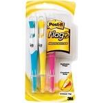 large supply of 3m post-it flags and highlighter pens - save money - sku: mmm689hl3