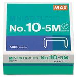 large supply of max usa hd-10df mini staples - ulettera fast shipping - sku: mxb105m