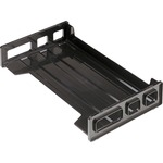 order officemate side-loading stackable desk trays - spend less - sku: oic21102