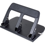 get the lowest prices on officemate heavy-duty padded handle 3-hole punch - fast delivery - sku: oic90089