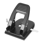 officemate heavy-duty adjustable center 2-hole punch - sku: oic90092 - outstanding customer care team