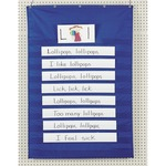 wide assortment of pacon word sentence strip pocket charts - wide selection - sku: pac20010