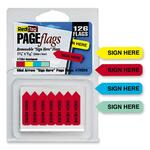 redi-tag sign here mini arrows - sku: rtg72020 - discounted prices