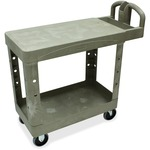 large supply of rubbermaid flat shelf utility carts - quick and free delivery - sku: rcp450500bg
