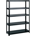 safco boltless steel shelving - delivery is quick and free - sku: saf5246bl