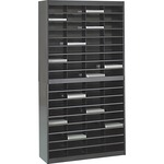 wide assortment of safco 72-compartment literature organizer - large selection - sku: saf9241blr