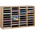 get safco adjustable shelves literature organizers - free delivery - sku: saf9424mo