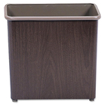 huge selection of safco fire-safe all steel rectangular wastebaskets - large selection - sku: saf9615wl