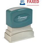 searching for xstamper red blue faxed title stamp  - toll-free customer service staff - sku: xst2023