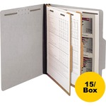 sj paper recyclable 2 divider classification folders - sku: sjps60902 - us-based customer service