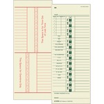 get the lowest prices on tops numbered days full payroll time cards  - great selection - sku: top1257