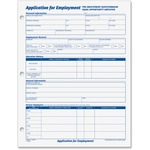 in the market for tops applications for employment forms  - excellent customer service - sku: top32851