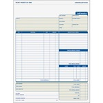 purchase tops three part carbonless job invoice forms - toll-free customer care staff - sku: top3866