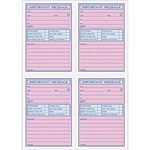 lower prices on tops important phone message book - quick and easy ordering - sku: top4009