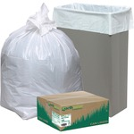 looking for webster heavy-duty reclaim recyclable white can liners  - order online - sku: wbirnw1k150v