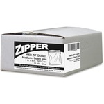 webster zipper quart size freezer bags - top rated customer support staff - sku: wbizipquart