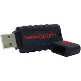 Centon DataStick Sport 4 GB Flash Drive - Black