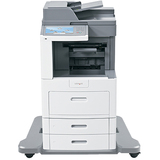 Lexmark X658DFE Laser Multifunction Printer - Monochrome - Plain Paper Print - Floor Standing