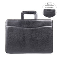 Stebco Carrying Case (Briefcase) for Document, Accessories - Black STB251210BLK
