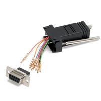 StarTech.com - Modular adapter - Serial - DB-9 (F) - RJ-45 (F) - 1 x DB-9 Female - 1 x RJ-45 Female