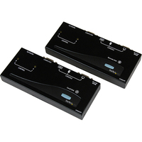 StarTech.com PS/2 KVM Console Extender - cat5 extender - external - up to 150 m - 1 Computer(s) - 1 Remote User(s) - 1 x HD-15 Keyboard/Mouse/Video