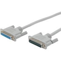StarTech.com Straight Through Serial Parallel Cable - DB25 - Serial / parallel cable - DB-25 (M) - DB-25 (F) - 10 ft - 1 x DB-25 Male Serial - 1 x DB-25 Female Seria