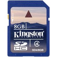 Kingston SD4/8GB 8 GB SDHC - 1 Card