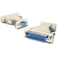 StarTech.com DB9 to DB25 Serial Cable Adapter - F/M - 1 x DB-9 Female Serial - 1 x DB-25 Male