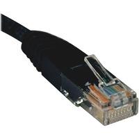 Tripp Lite 2ft Cat5e / Cat5 350MHz Molded Patch Cable RJ45 M/M Black 2 Deal