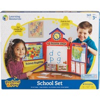 Pretend & Play - School Set with U.S. Map LRNLER2642
