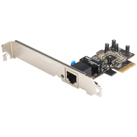 StarTech.com 1 Port PCI Express 10/100 Ethernet Network Interface Adapter Card - 1 Port - 10/100Base-TX - Internal