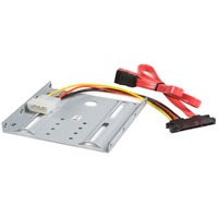 StarTech.com 2.5in Hard Drive to 3.5in Drive Bay Mounting Kit - Aluminium